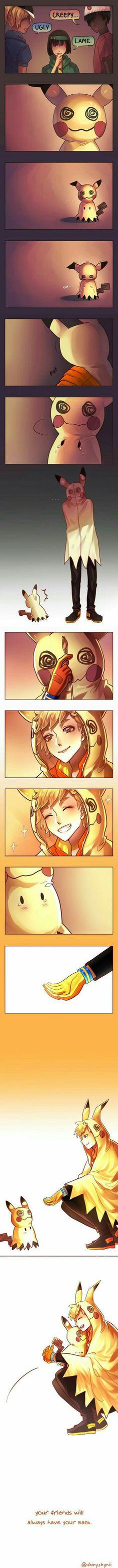 Spark, you precious cinnamon roll that loves all Pokemon