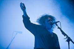 Robert James Smith von the Cure @ FM4 Frequency Festival 2012 © Dominique Hammer