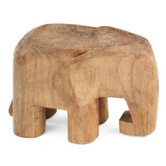Shop Design Ideas at Wayfair for a vast selection and the best prices online. Enjoy Free and Fast Shipping on most stuff, even big stuff! Elephant Table, Elephant Gifts, Elephant Sculpture, Wood Sculpture, Contemporary Decorative Objects, Wooden Art, Wood Carving, End Tables, Modern Decor