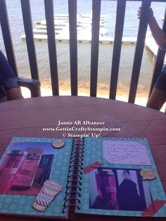 Gettin' Crafty Stampin' with Jamie: Work Hard to Play Harder!! #GettinCraftyStampin #ThisAndThatBooks #StampinUp