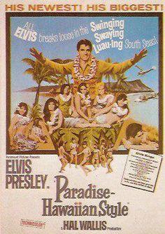 Paradise Hawaiian Style    Elvis Movie #21  Paramount | 1966