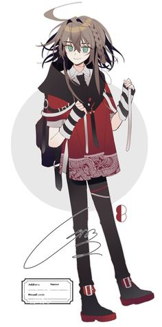 Character Concept, Character Art, Character Design, Anime Outfits, Girl Outfits, Anime Girl Brown Hair, Sao Characters, Pokemon Oc, Character Modeling