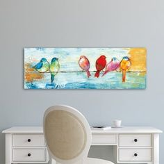 Shop for Portfolio Canvas Decor Song Birds I Wrapped Canvas Wall Art. Free Shipping on orders over $45 at Overstock.com - Your Online Art Gallery Store! Get 5% in rewards with Club O! - 20943765