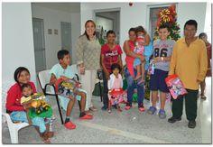 Próxima primera dama del departamento entrega regalos a los niños en el hospital San Jorge de Pereira