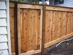 Stair step fence gate