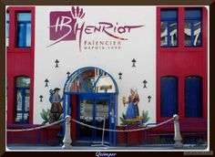 Henriot Quimper - showroom?