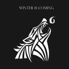 Awesome 'Game+Of+Thrones+6+-+STARK+-+Winter+is+Coming' design on TeePublic!