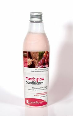 Masticspa Mastic Glow Conditioner normal to dry hair 250 ml Contains:Mastic, Mastic oil, Ariousios Wine, Tangerine, Wheat, Jojoba, Soy, Grape Pips, Vitamin E, organic chamomile* & green tea* extracts. - See more at: http://www.greekpharma.com/shop/masticspa-mastic-glow-conditioner-normal-dry-hair/#sthash.8HChVJ3p.dpuf