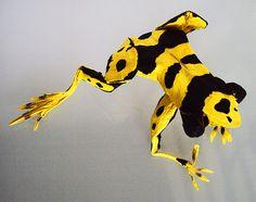 A surpreendente arte em origami de Matthieu Georger