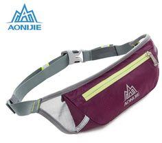 AONIJIE Men Women Running Waist Pack Fanny Pack Ultralight Air Permeability Marathon Cycling Mobile Phone Bag