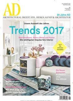 Trends 2017 - #Marshmallows, #HeavyMetal und #Kora - die wichtigsten Impulse fürs #Interior 🛋 Jetzt AD Architectural Digest: