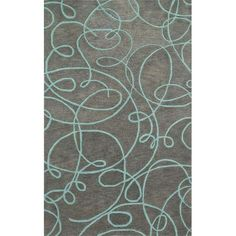 8 x 11 Large Grey Area Rug - Nova