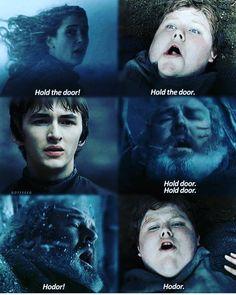 Game of Thrones. Hodor 😢 Sad Got Hodor Game Of Thrones, Game Of Thrones Poster, Game Of Thrones Series, Game Of Thrones Quotes, Game Of Thrones Funny, Winter Is Here, Winter Is Coming, Sansa Stark, Serie Got