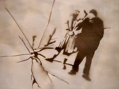 Joel and Clem on ice. Eternal Sunshine of the Spotless Mind Stencil Art by tinaubuggin on deviantART