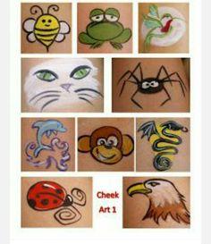 Cheek art