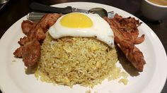 IndonAsian Fried Rice with Egg and Grilled Chicken at Noodle Star Markham