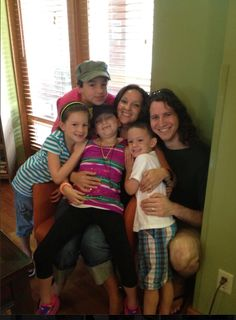 Sophia, Macy, Justin, Jourdan, Candice and Ben @ The Ronald McDonald House Memphis summer 2012