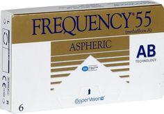 Frequency 55 Aspheric  Avec leur format asphérique sophistiqué les lentilles de contact Frequency 55 Aspheric de CooperVision sont idéales pour ceux qui souffrent de sévères problèmes de vue et portent une grande importante au confort de..  EUR 6.98  Meer informatie