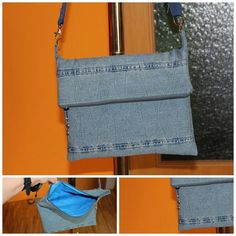 Tasche aus Hose / Bag made from pair of trousers / Jeans / Upcycling