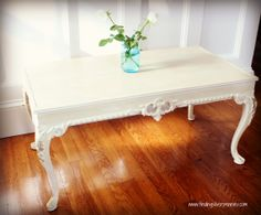Items similar to Gilded French Coffee Table (Annie Sloan Chalk Paint) on Etsy Shabby Chic Furniture, Painted Furniture, Furniture Projects, Diy Furniture, Locker Lookz, French Coffee, French Table, Annie Sloan Chalk Paint, Decorating Coffee Tables