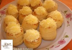 Érdekel a receptje? Kattints a képre! Torte Cake, Savory Pastry, Hungarian Recipes, Hungarian Food, Salty Snacks, Cake Recipes, Bakery, Muffin, Sweets