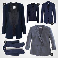 blue blazers..