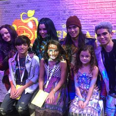 Excited to meet the cast of the upcoming movie #disneydescendants