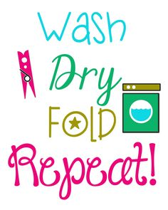 FREE PRINTABLES for the Laundry Room!!!