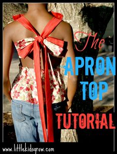 The Apron Top TUTORIAL
