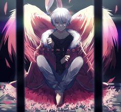 Fanart, Happy Tree Friends, Kawaii, Ichimatsu, Anime Hair, Anime Angel, Diabolik Lovers, Manga Boy, Tokyo Ghoul