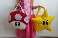 The Train To Crazy: Handmade Costumes: DIY Treat Bags Tutorial