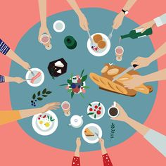 Fashion Illustrations Irina Kruglova - Design Crush - Chicago-based graphic designer and illustrator Irina Kruglova is known for her strikingly colorful illustrations that focus on minimalism and. Art And Illustration, Illustration Design Graphique, Illustrations And Posters, Fashion Illustrations, Pattern Illustration, Character Illustration, Art Watercolor, Buch Design, Illustrator