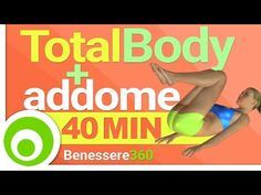Allenamento Total Body + Addominali di 40 Minuti - Tabata HIIT Workout - YouTube