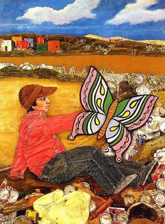 Juanito laguna por Antonio Berni Art Pop, Collages, Social Realism, Jasper Johns, Classical Art, Graphic Design Posters, Kite, Art Forms, Creative