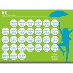April Push Up Challenge