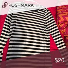 Michael Kor black and white stripe shirt It is a black and white striped long sleeve shirt. MICHAEL Michael Kors Tops Tees - Long Sleeve
