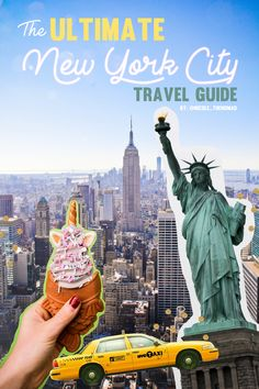 Looking for the best things to do & places to eat in NYC?! This guide has everything you need for the perfect trip to the city!