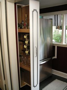 How To Build A Vertical Pull Out Cabinet Home Projects