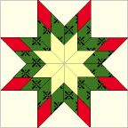 Blazing Star Quilt Block free pattern on McCall's Quilting at http://www.mccallsquilting.com/patterns/details.html?idx=7917