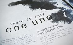 The Book: There is only one UNO
