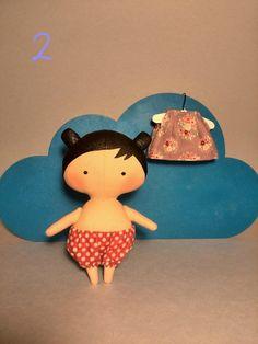 Pequeñas muñecas hecha a mano juguete Tilda muñeca regalo