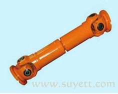 Suyett Shaft Joint ❤ Cardan Shaft ❤SWP Universal Coupling❤ Universal joints Overview: The bearing of SWP-type cross shaft coupling housing is designed to split, easy to replace bearings. It is bolted by bolts, applicable to rolling machinery, lifting and transport machinery and other heavy machinery.