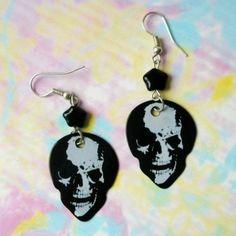 Drop Earrings, Halloween, Handmade, Jewelry, Jewels, Schmuck, Drop Earring, Craft, Jewerly