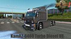 KamAZ-6460 Turbo Diesel V8 + Interior v1.3 (1.38.x) for ETS2 New Iberia, New Mods, Volvo, Diesel, Engineering, Trucks, Interior, Indoor, Electrical Engineering