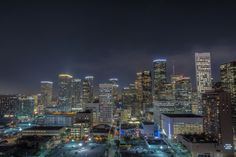 Photograph houston nights by Raymond Harkness on 500px