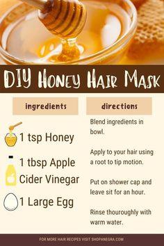 DIY Honey Hair Mask | Anegra