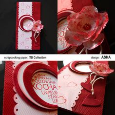 Kochajcie i bądźcie kochani...   #walentynki #scrapbooking #ValentinesDay #scrap #handmade #handcrafted #itdcollection