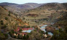 Kaneetah Resort, Warm Springs Indian Reservation, Oregon.