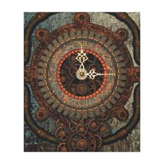 Steampunk clock poster and prints Steampunk Theme, Steampunk Clock, Steampunk Wedding, Framed Wall Art, Framed Prints, Canvas Prints, Wedding Programs, Wedding Gifts, Mechanical Engineering