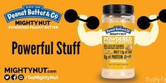 Mighty Nut Powdered Peanut Butter is a fantastic, gluten free, and vegan alternative to typical peanut butter and nut butters. High in fiber, protein, and flavor, and low in fat, Might Nut is beyond versatile! Learn more at Suzlyfe.com